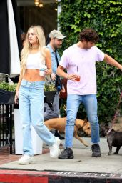 Delilah Hamlin Street Style - West Hollywood 04/16/2019