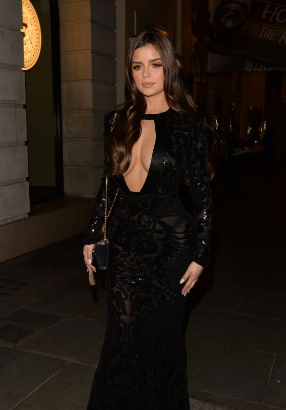 Demi Rose Night Out Style 04/24/2019