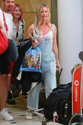 Denise Richards - Sydney Airport 04/09/2019