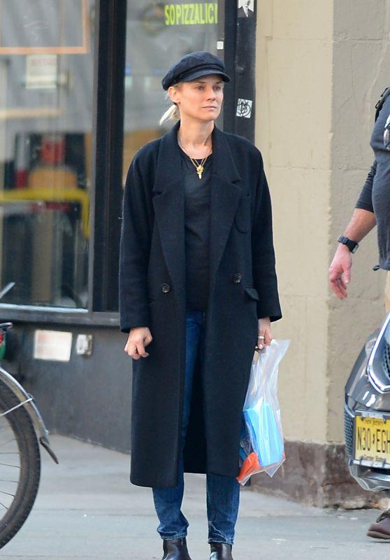 Diane Kruger Street Style - New York City 04/07/2019