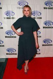 Eliza Taylor – The 100 Press Line at WonderCon 2019