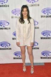 "Elizabeth Henstridge - ""Agents of S.H.I.E.L.D."" Press Line at WonderCon 2019"