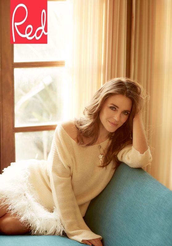 Elizabeth Hurley - Red Magazine May 2019