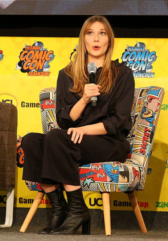 Elizabeth Olsen - 5th German Comic Con in Dortmund 04/13/2019
