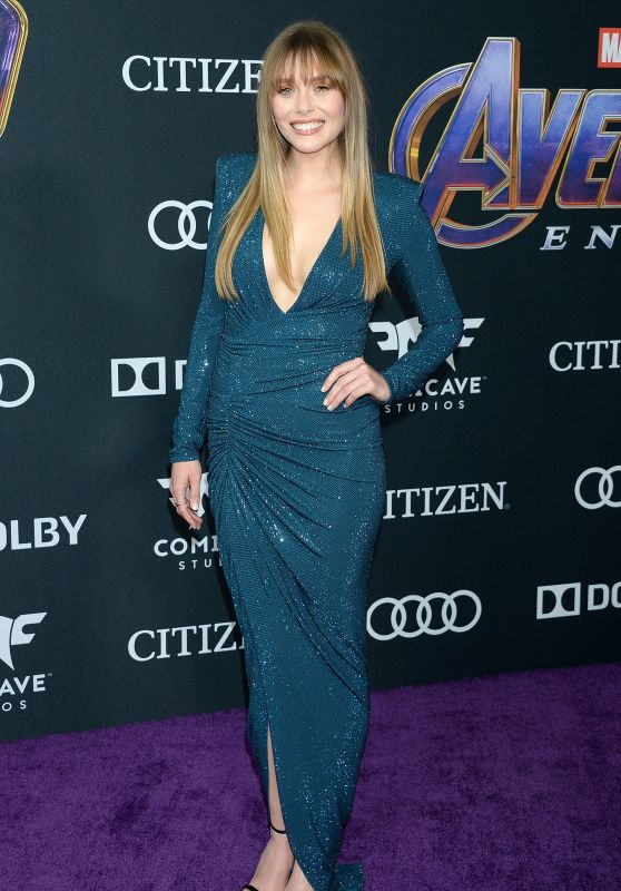 "Elizabeth Olsen – ""Avengers: Endgame"" Premiere in LA"