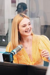 Elle Fanning - On Air with Ryan Seacrest in LA 04/18/2019