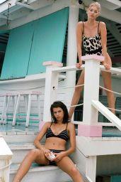 Elsa Hosk and Georgia Fowler in Bikinis - Turks and Caicos Islands 04/02/2019