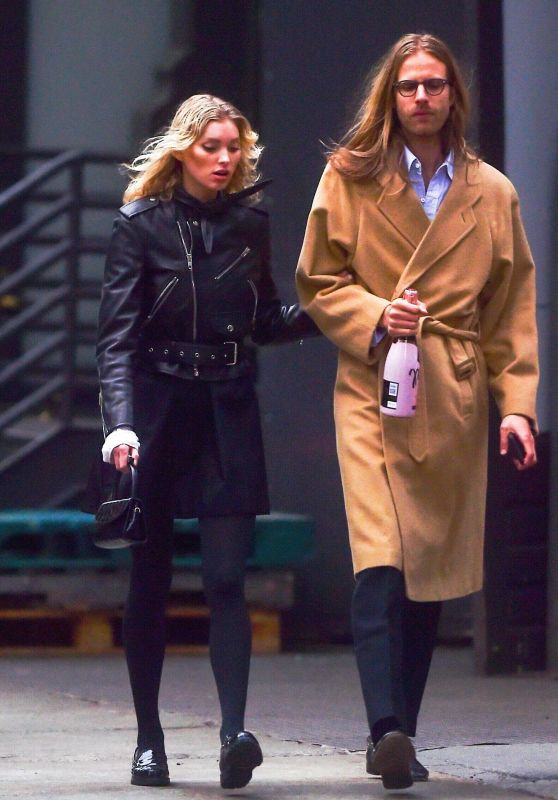 Elsa Hosk and Tom Daly in Soho, NYC 04/16/2019