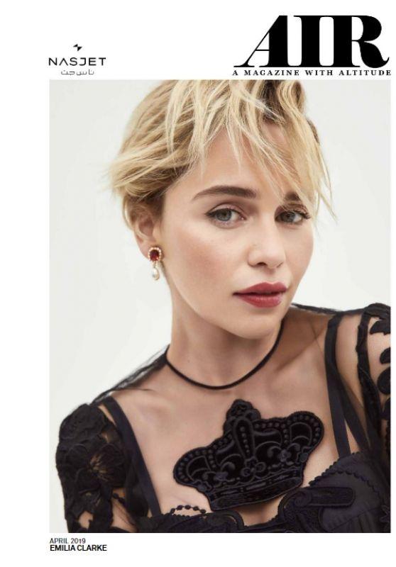 Emilia Clarke - Air Magazine April 2019 Issue