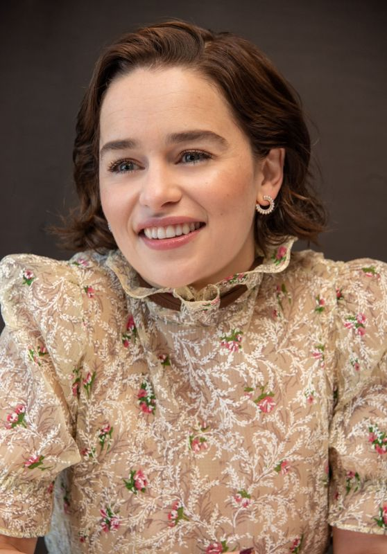 """Emilia Clarke - """"Game Of Thrones"""" Press Conference in NY 04/04/2019"""