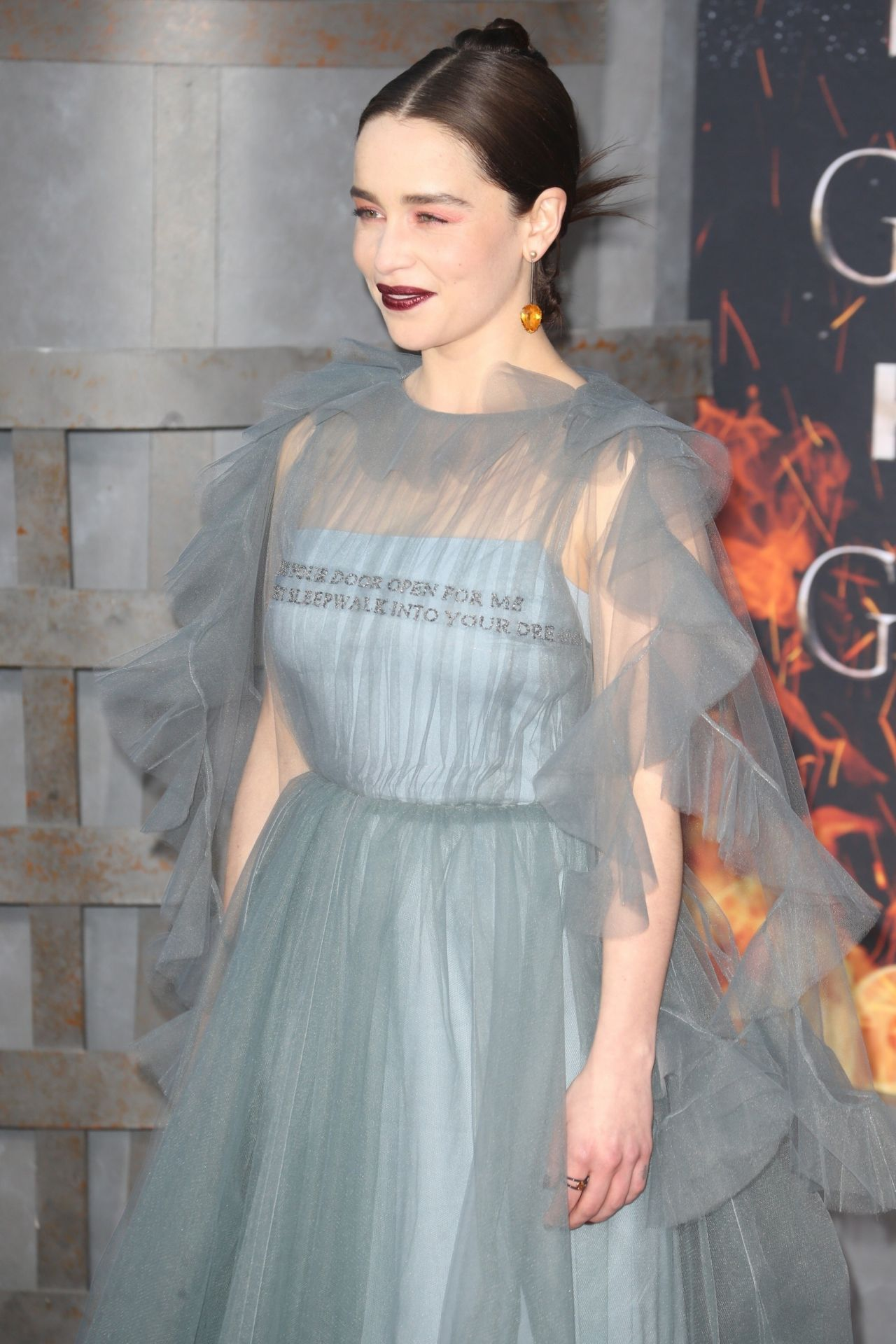 Emilia Clarke Quot Game Of Thrones Quot Season 8 Premiere In Ny