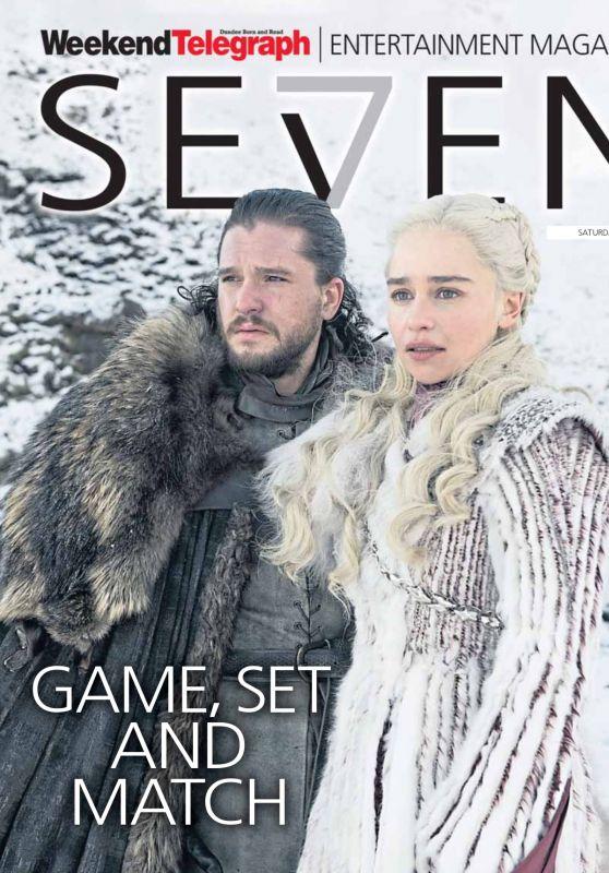 Emilia Clarke - Se7en Magazine April 2019 Issue