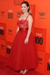 Emilia Clarke – TIME 100 Gala 2019 Red Carpet