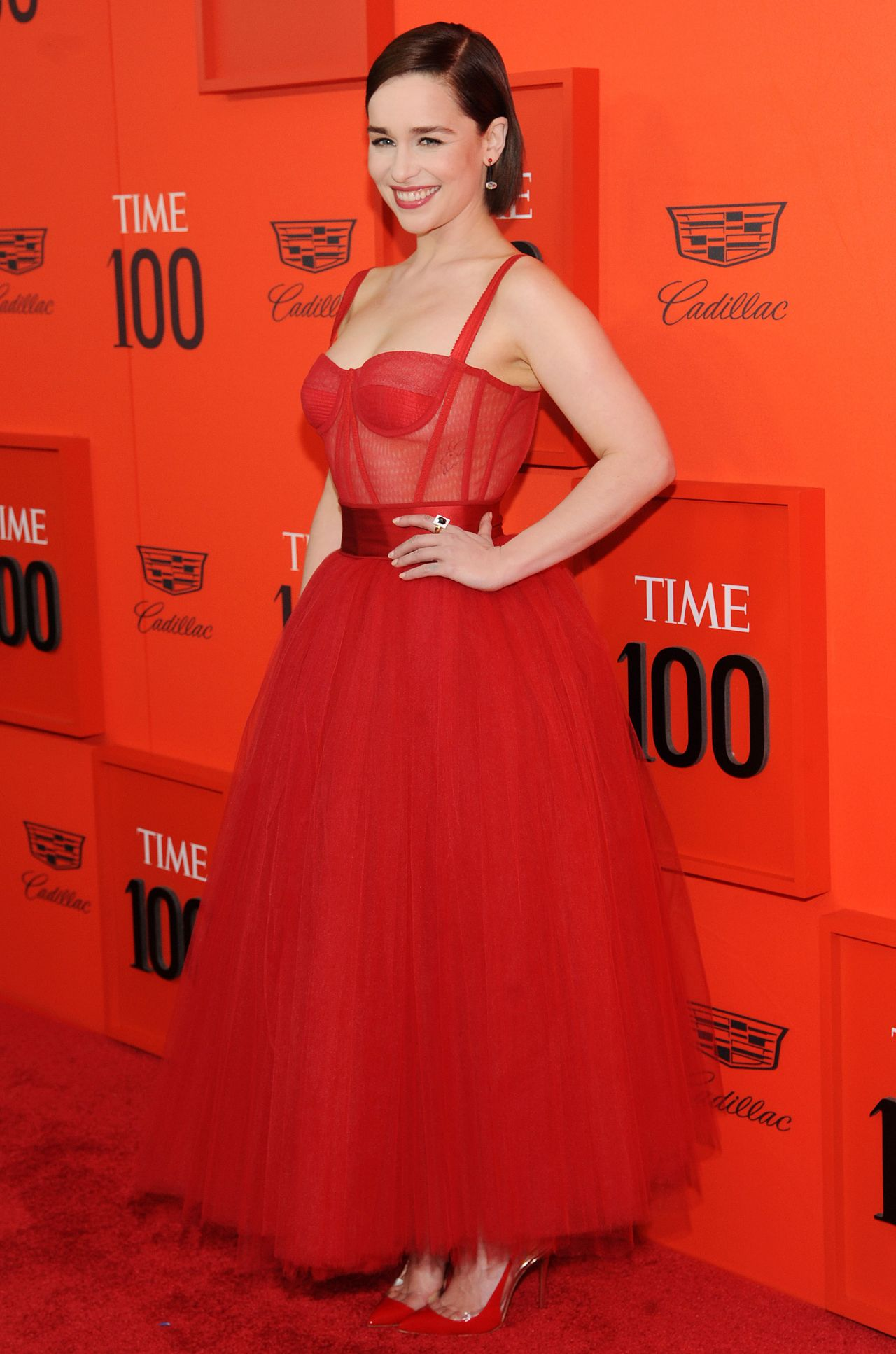 Emilia Clarke Time 100 Gala 2019 Red Carpet