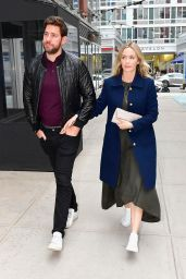 Emily Blunt and John Krasinski - Out in NYC 04/11/2019