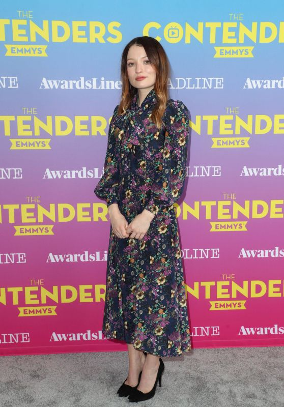 "Emily Browning - ""American Gods"" Panel at Deadline Contenders Emmy Event in LA"