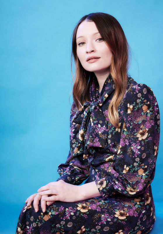 Emily Browning - Deadline Contenders Portraits April 2019