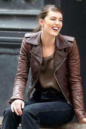 Emily DiDonato - Maybelline Photoshoot Set in NYC 04/25/2019
