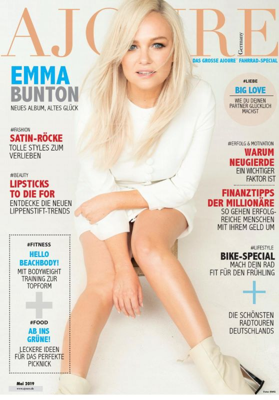 Emma Bunton - Ajoure Magazine Germany May 2019 Issue