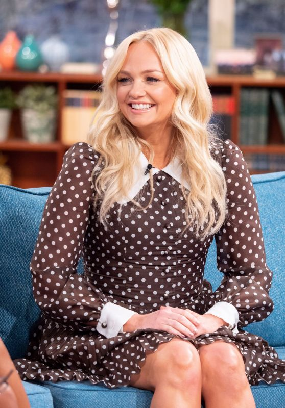 Emma Bunton - This Morning TV Show in London 04/16/2019
