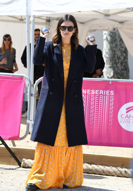 Emma Mackey – 2019 Canneseries International Series Festival Jury Photocall