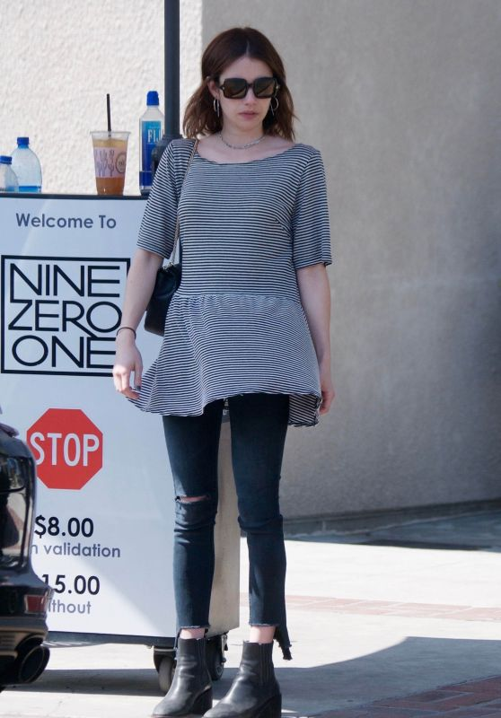 Emma Roberts Casual Style 04/19/2019