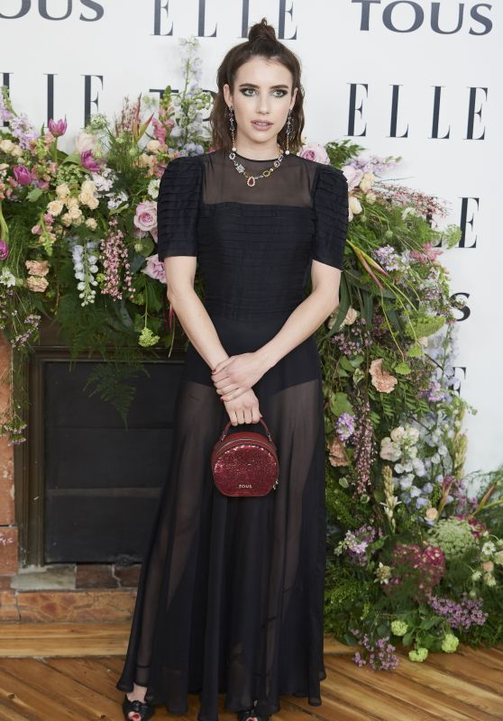 """Emma Roberts - """"Elle Tribute To Emma Roberts"""" Photocall in Madrid"""