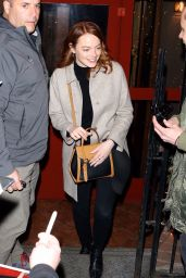 Emma Stone - NBC Studios in NYC 04/09/2019