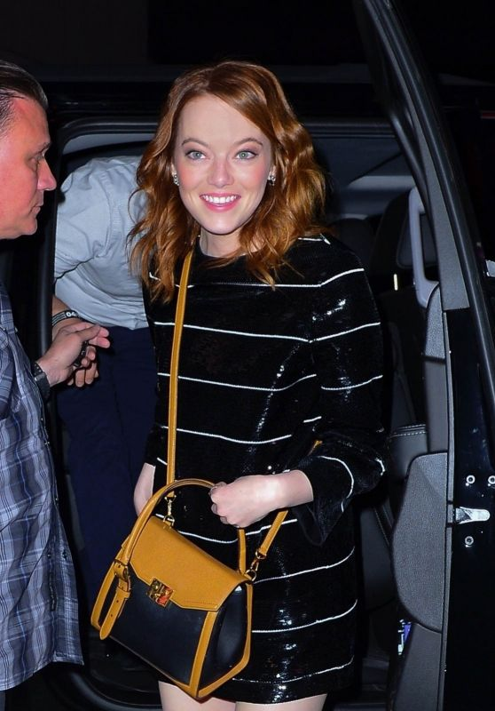 Emma Stone - SNL Afterparty in New York  04/14/2019
