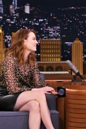 Emma Stone - The Tonight Show Starring Jimmy Fallon 04/11/2019