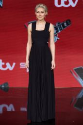 Emma Willis – The Voice UK TV Show Final Photocall in London 04/04/2019