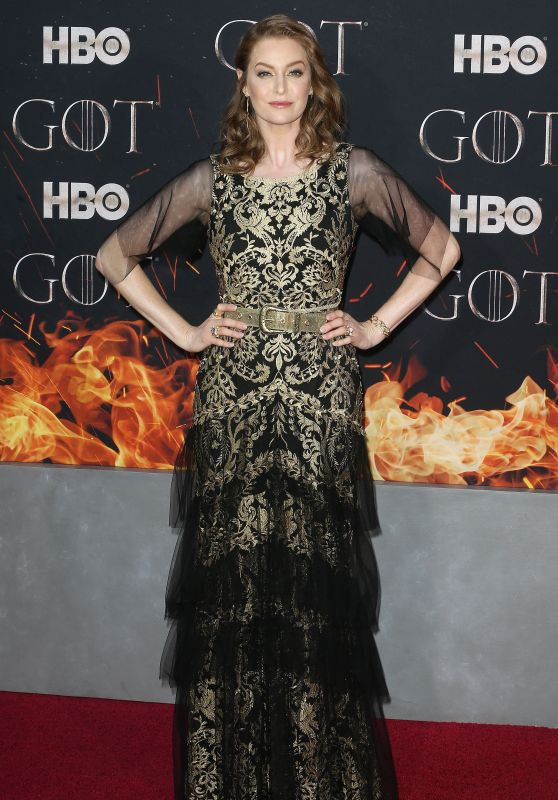 "Esme Bianco – ""Game of Thrones"" Season 8 Premiere in NY"