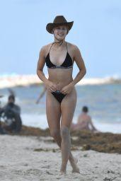 Eugenie Bouchard in Bikini on Miami Beach 04/12/2019