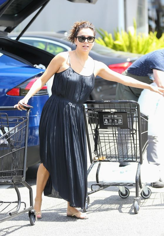 Eva Longoria - Grocery Shopping in LA 04/14/2019