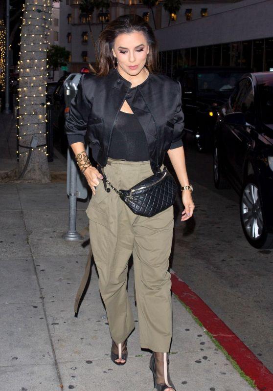 Eva Longoria Night Out Style - Beverly Hills 04/13/2019