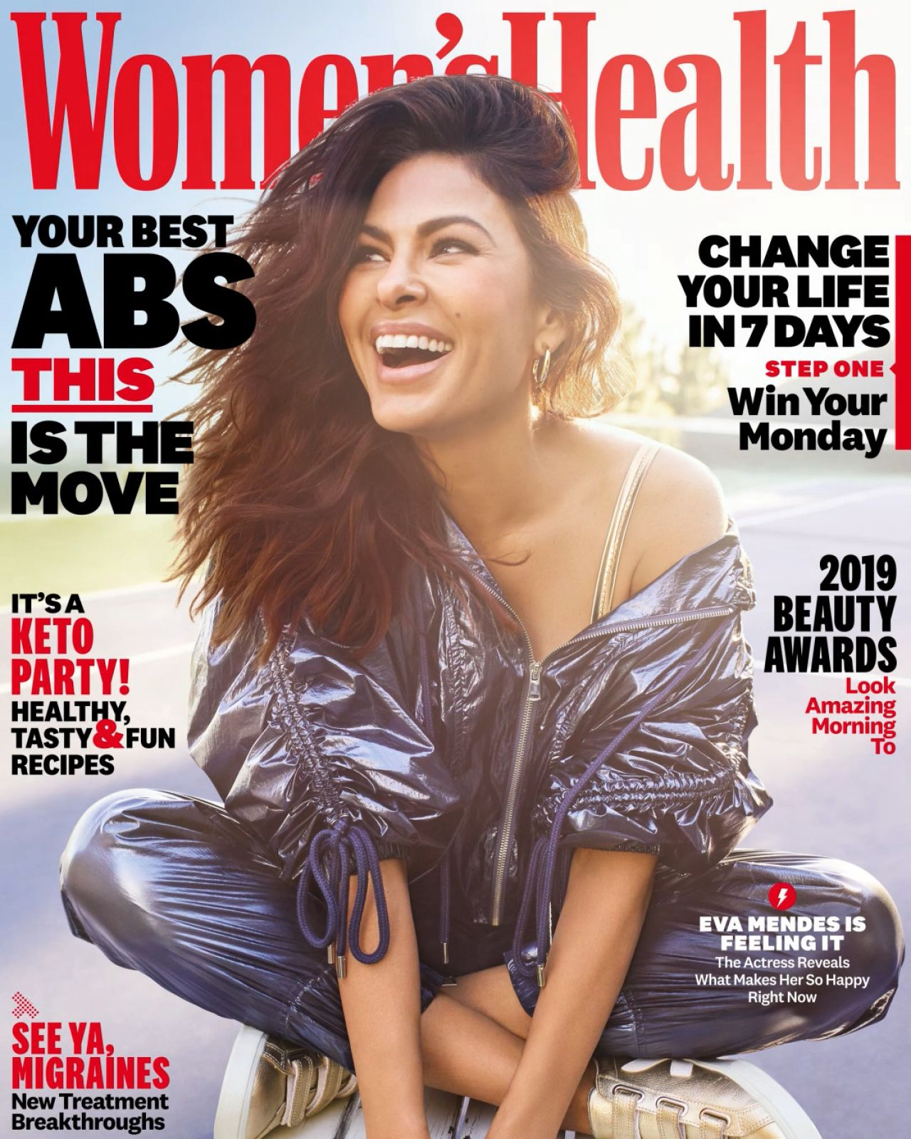 Eva Mendes Womens Health Magazine May 2019 Cover