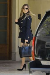 Fergie - Leaving Easter Sunday Church Service in Brentwood 04/21/2019