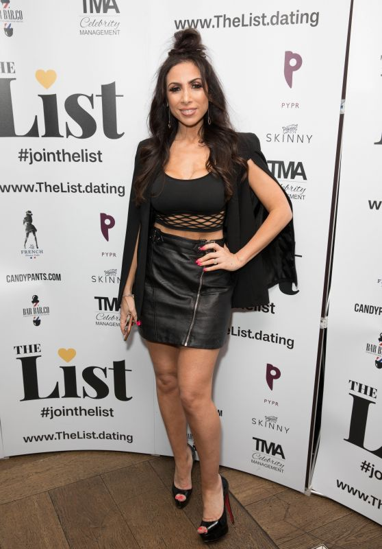 Francine Lewis - The List Dating App Launch Party at 100 Wardour Street in London