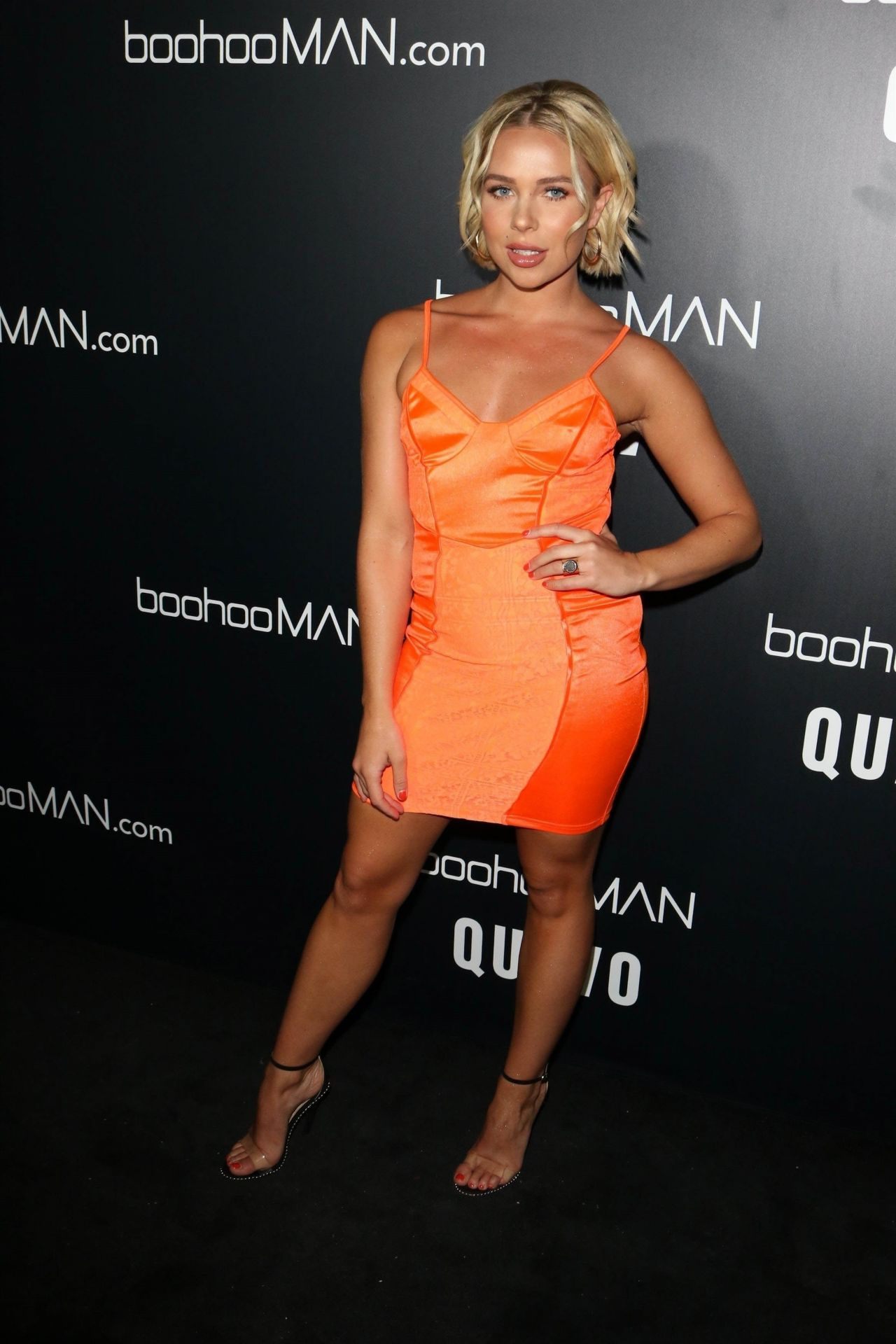Gabby Allen - Quavo x boohoo MAN LA Launch Party in West