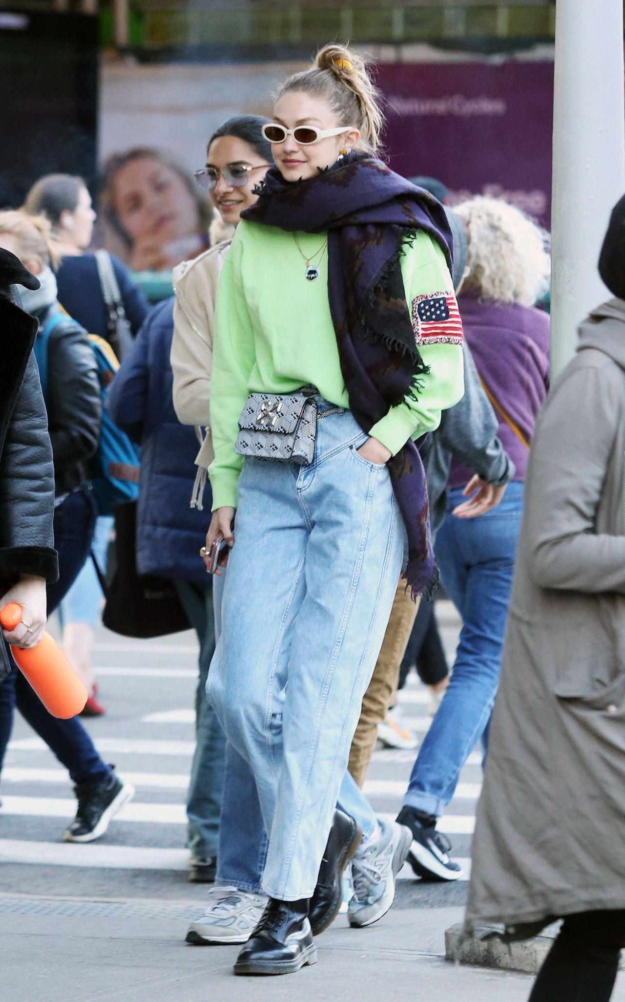 Gigi Hadid Street Style 04/17/2019 • CelebMafia