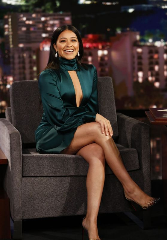 Gina Rodriguez - Jimmy Kimmel Live! in Los Angeles 04/17/2019