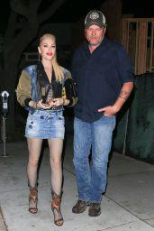 Gwen Stefani and Blake Shelton - Out for Dinner at Craig