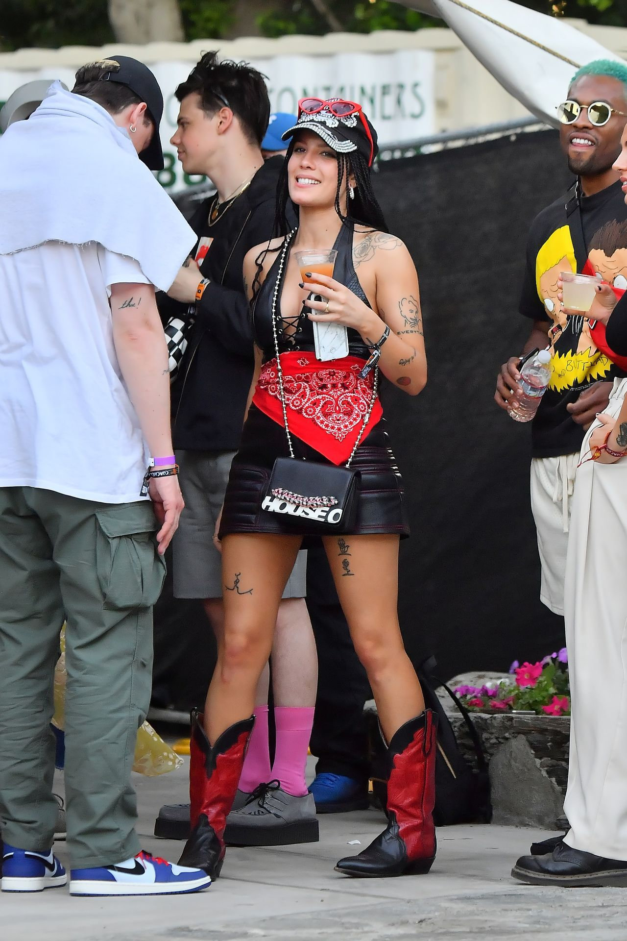 Halsey And Yungblud At Coachella Music Festival 04 13 2019