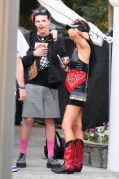 Halsey and Yungblud at Coachella Music Festival 04/13/2019