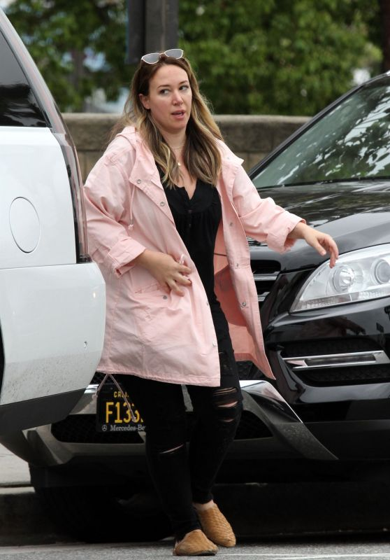 Haylie Duff - Out in LA 04/20/2019