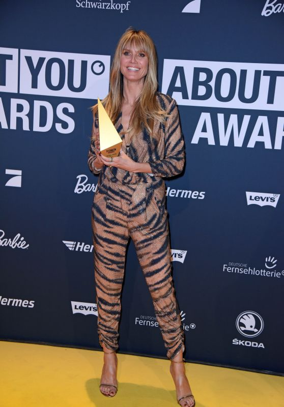 Heidi Klum – About You Awards 2019 in Munich