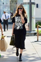 Heidi Klum - Shops at The Grove in Los Angeles 04/13/2019