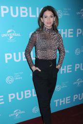 """Hilaria Baldwin – """"The Public"""" Premiere in NY"""