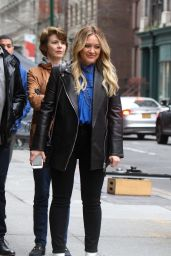 "Hilary Duff  - ""Younger"" Set in NYC 04/09/2019"