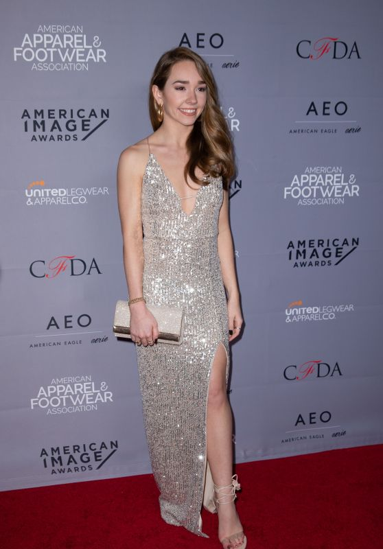 Holly Taylor - 2019 AAFA American Image Awards in New York